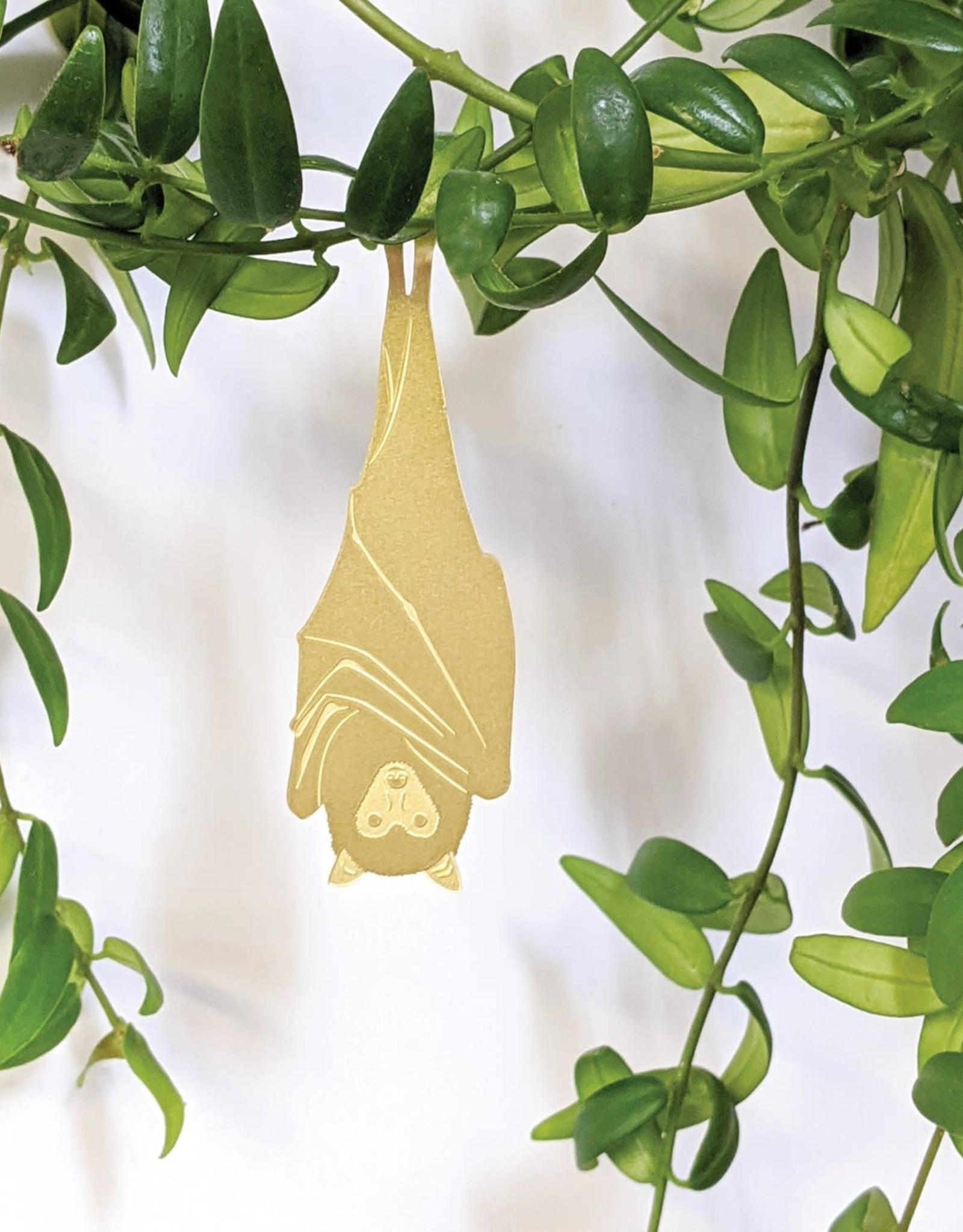 another studio Golden plant hanger - Fruit Bat
