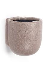 serax Wall Pot Purple S 11,5x11x12