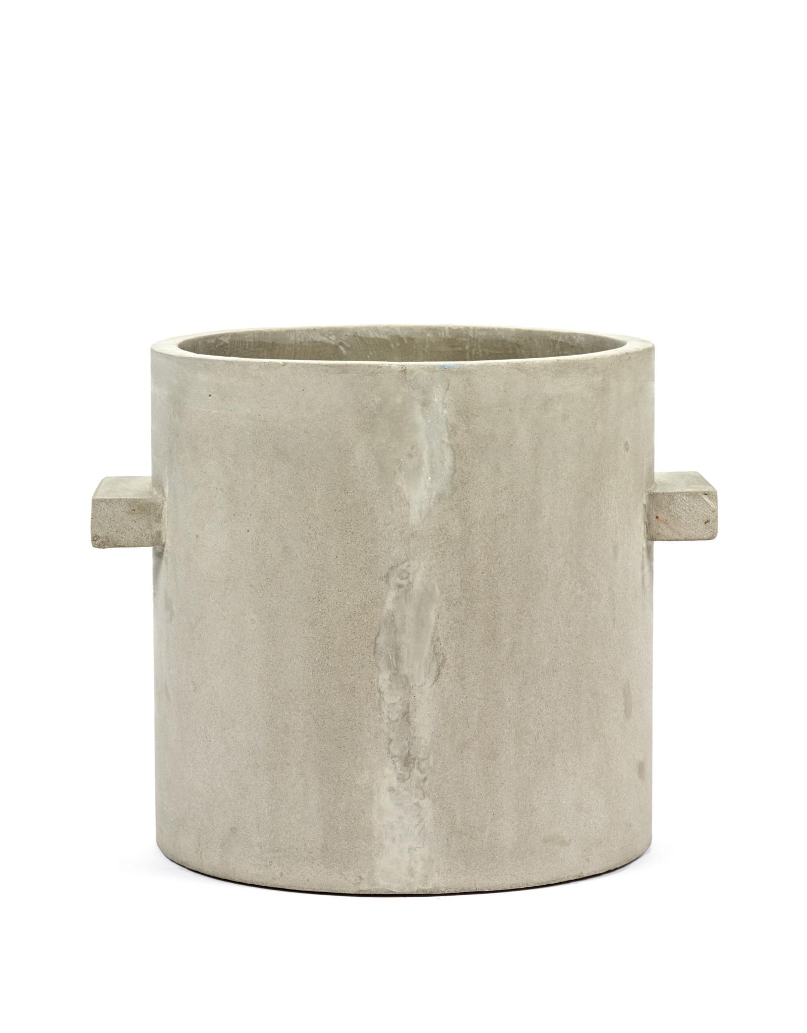 serax Concrete Pot Ø24 h27