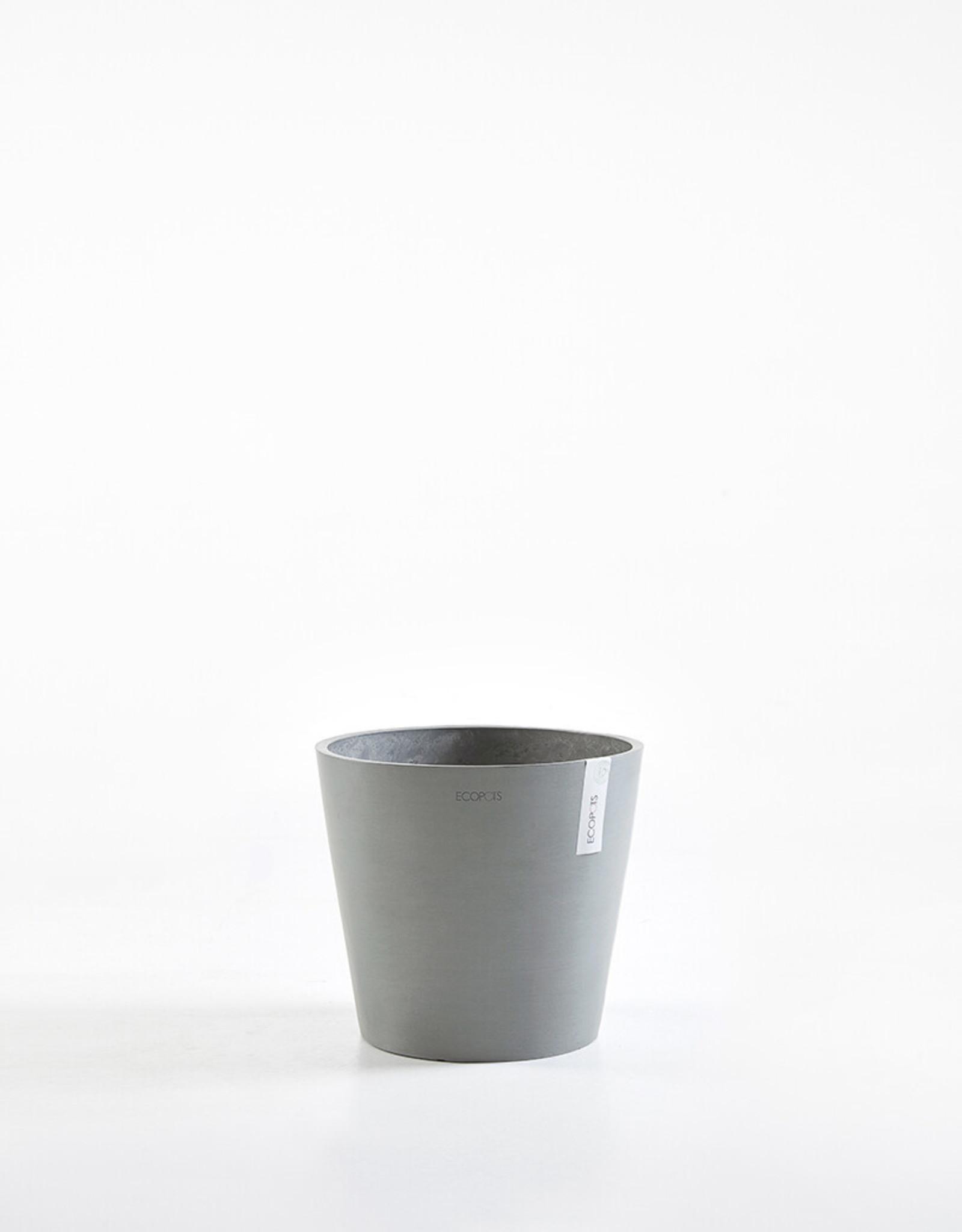 Ecopots Ecopot 'Amsterdam' - Blue Grey ∅30