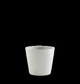 Ecopots Ecopot 'Amsterdam' - White Grey ∅30