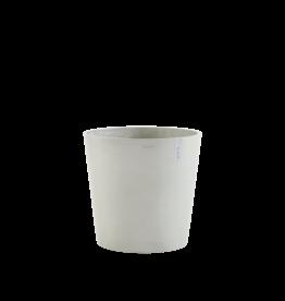 Ecopots Ecopot 'Amsterdam' - White Grey ∅50