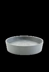 Ecopots Saucer on Wheels - Blue Grey ∅50