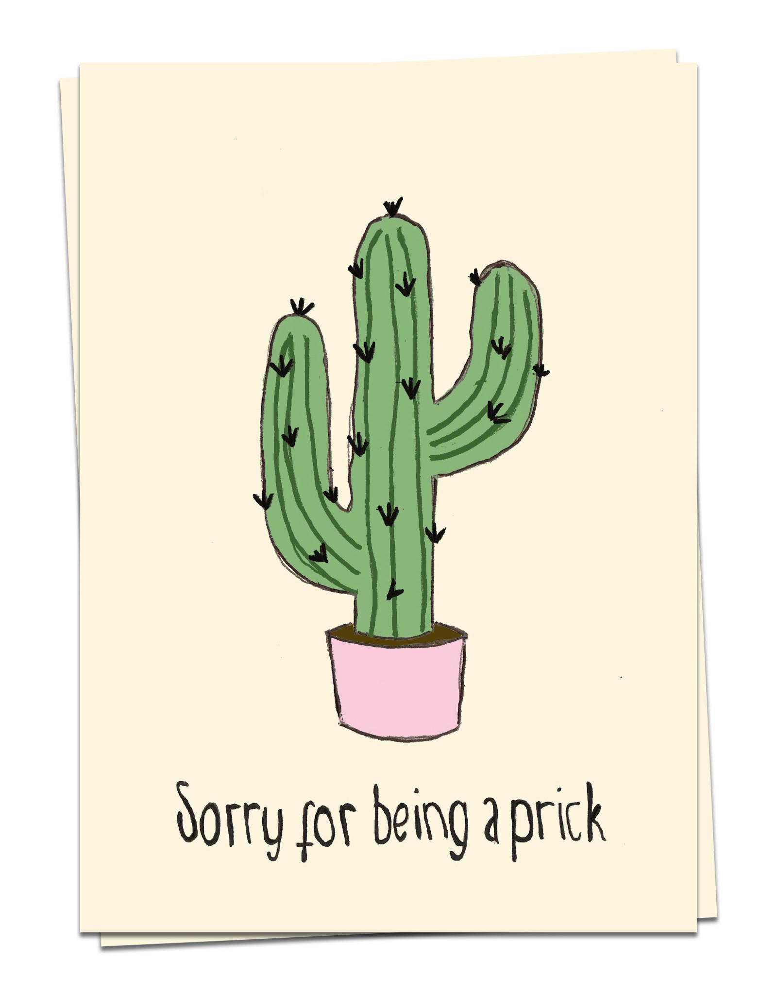 Kaart Blanche Cactus Prick