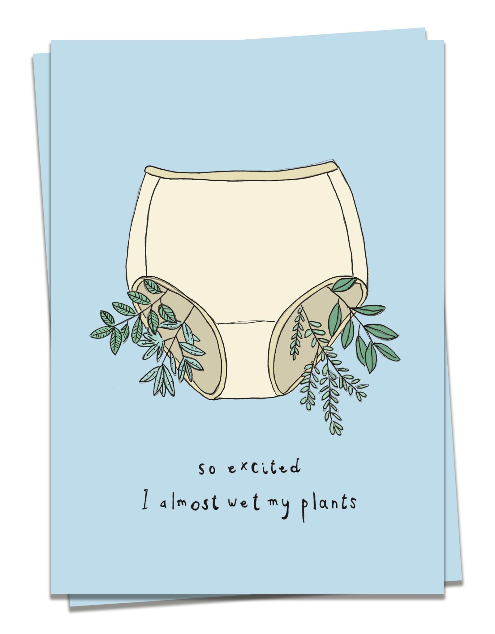 Kaart Blanche Wet my plants