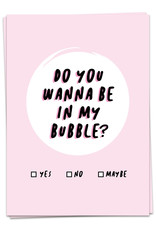 Kaart Blanche Bubble