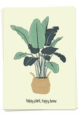 Kaart Blanche Happy plant, happy home