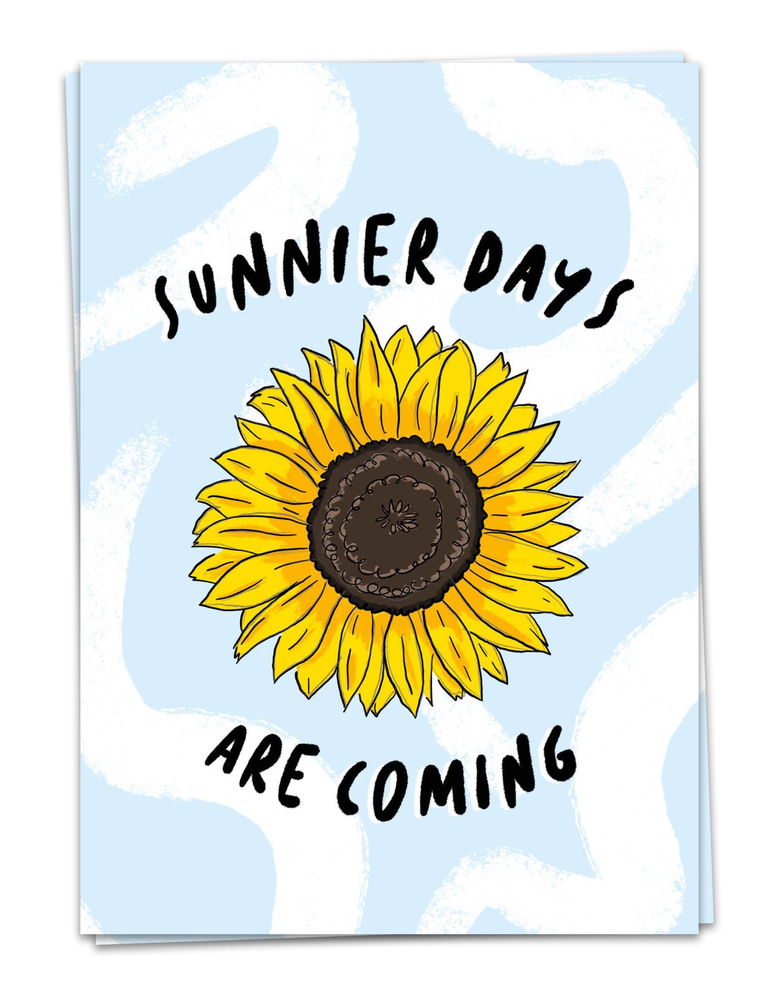 Kaart Blanche Sunnier days