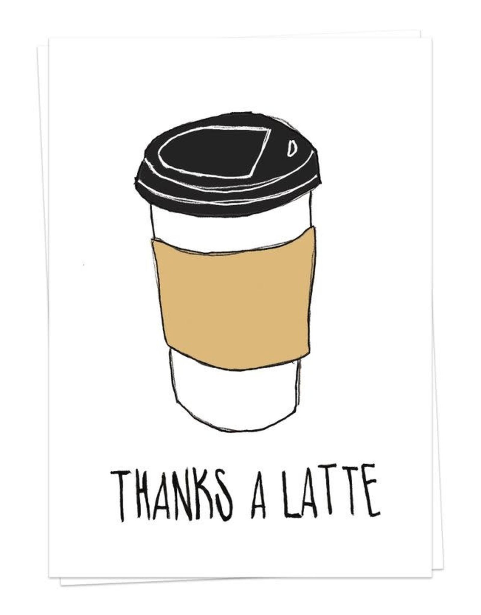 Kaart Blanche Thanks a Latte