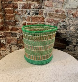 Solid Crafts Hadithi Basket M - green