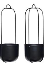 Hübsch Hanging pot - Black 16xh44 [2]