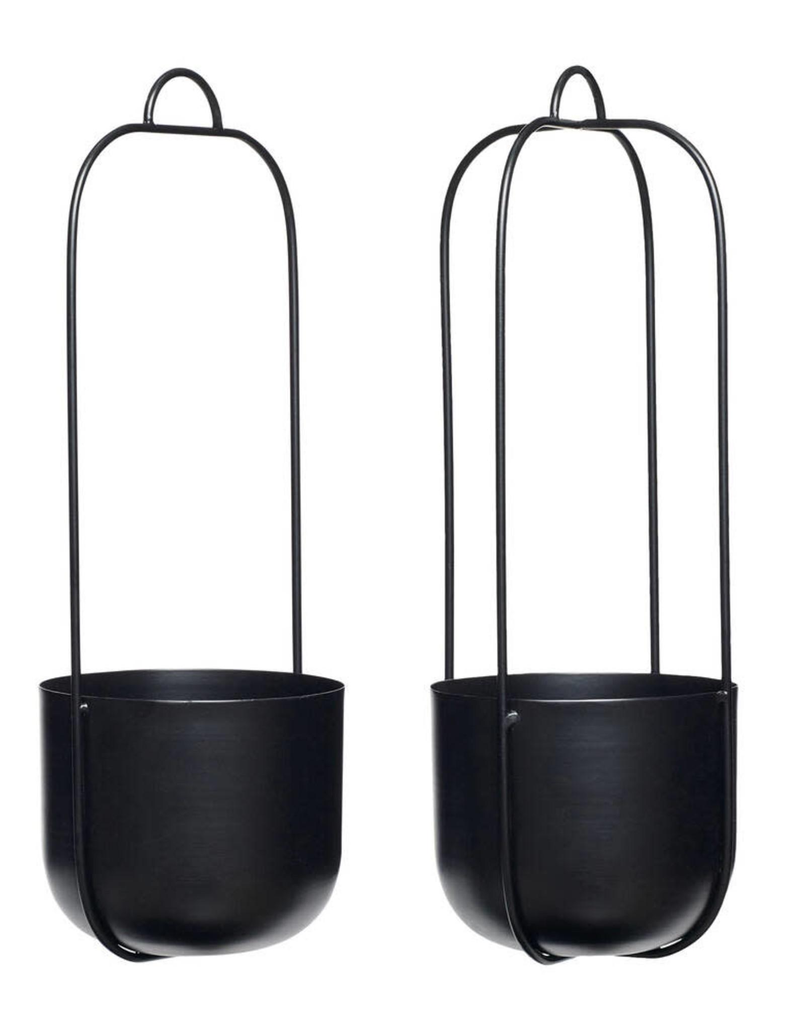 Hübsch Hanging pot - Black 16xh44 [4]
