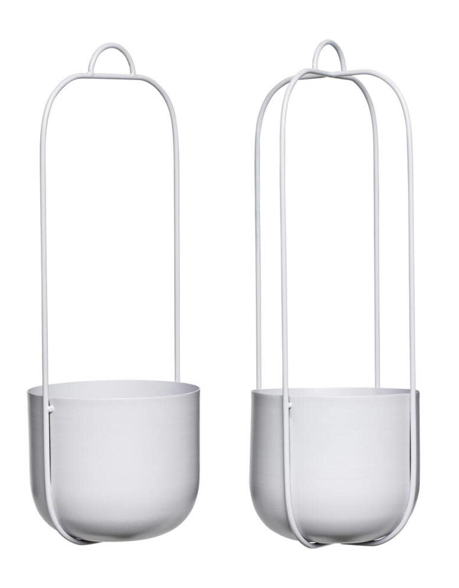 Hübsch Hanging pot - Grey 16xh44 [2]