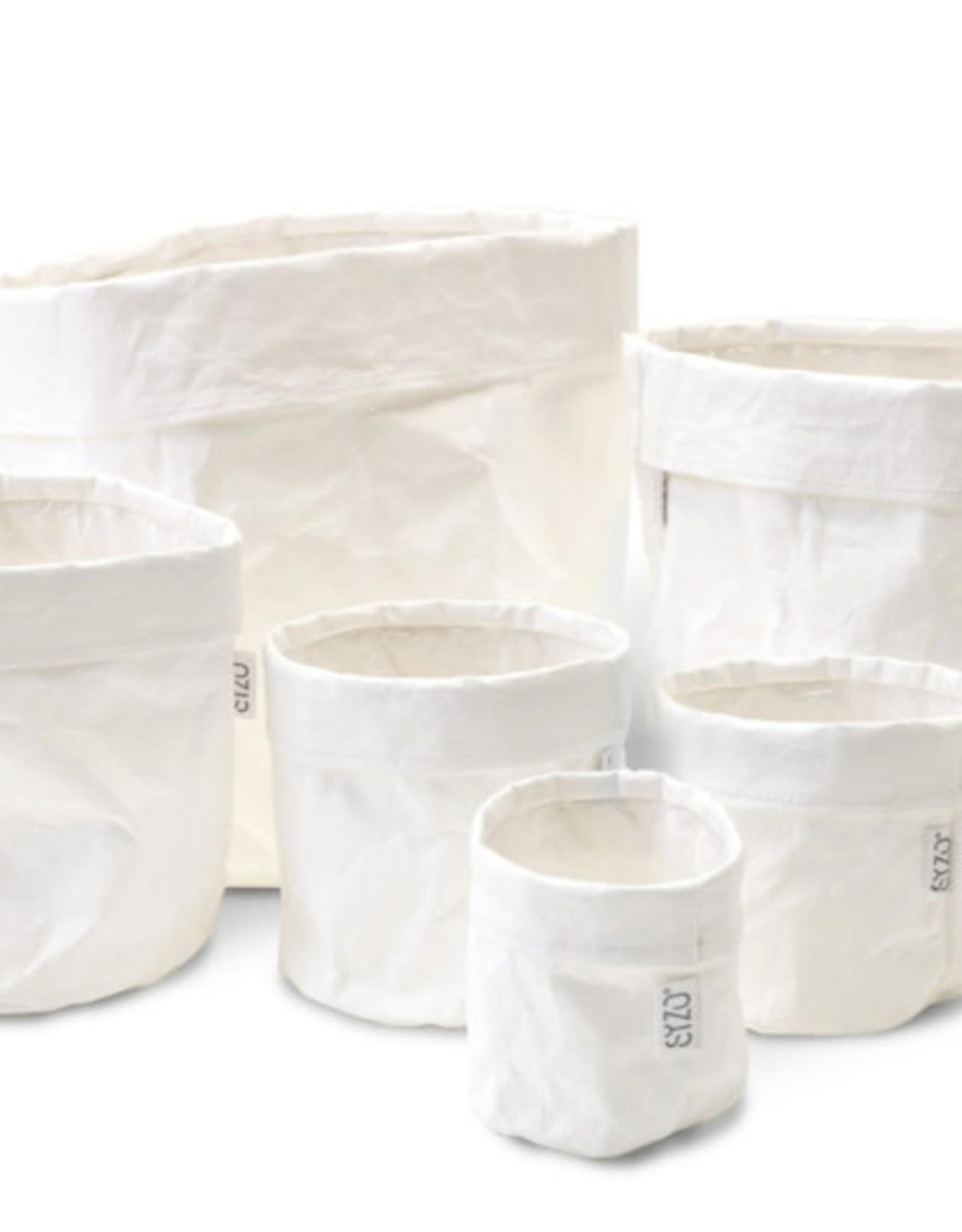 Agora White Paper bag D30X30H