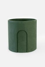 House Raccoon Joe Planter - Moss Green Ø 17 cm