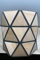 Karooz Daisy - Triangle - Beech - H18,5 x B18,5