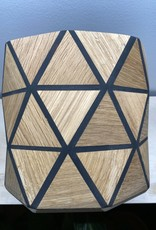 Karooz Pansy - Triangle - Oak - H18,5 x B18,5