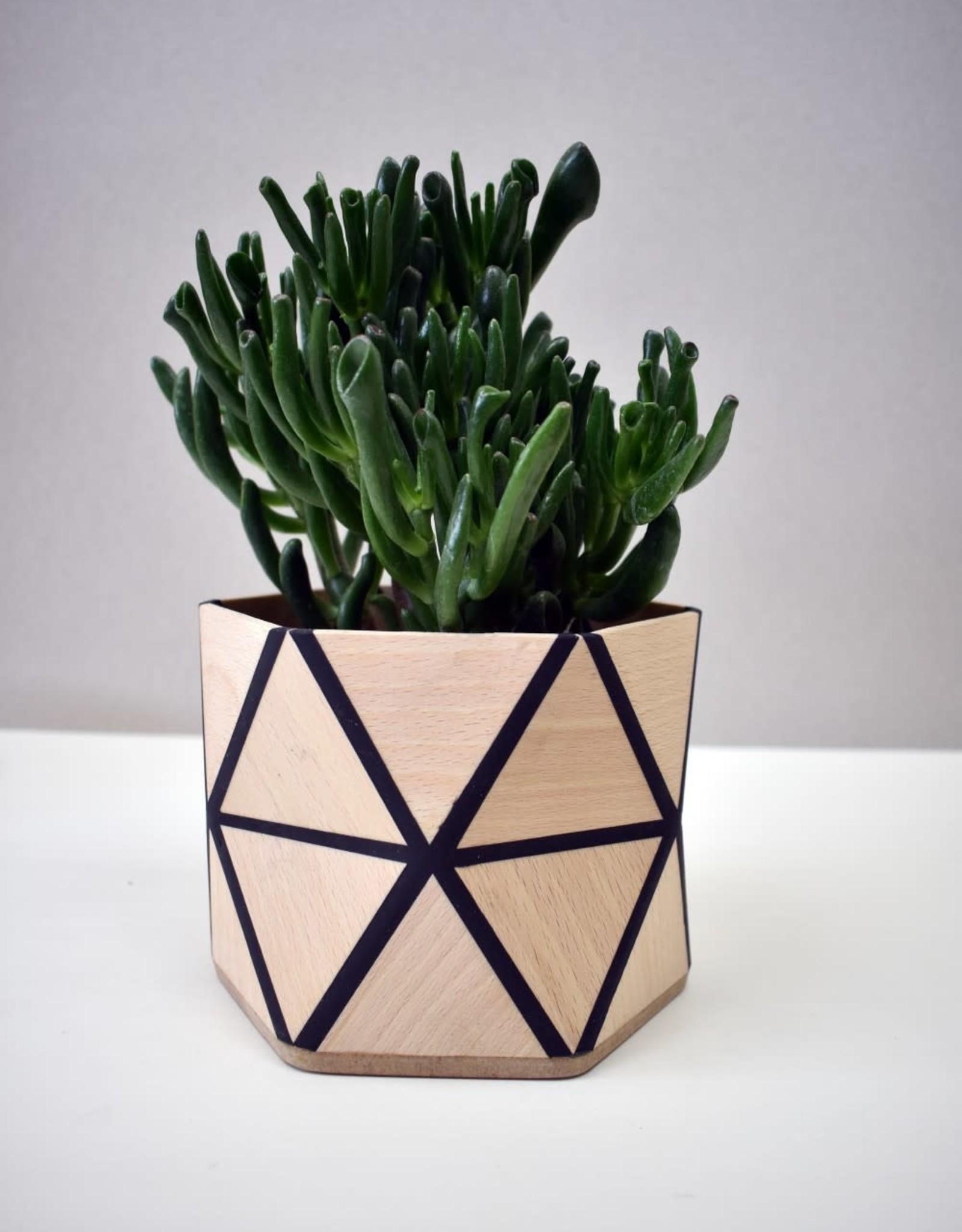 Karooz Daisy - Triangle - Beech - H12,5 x B13,5