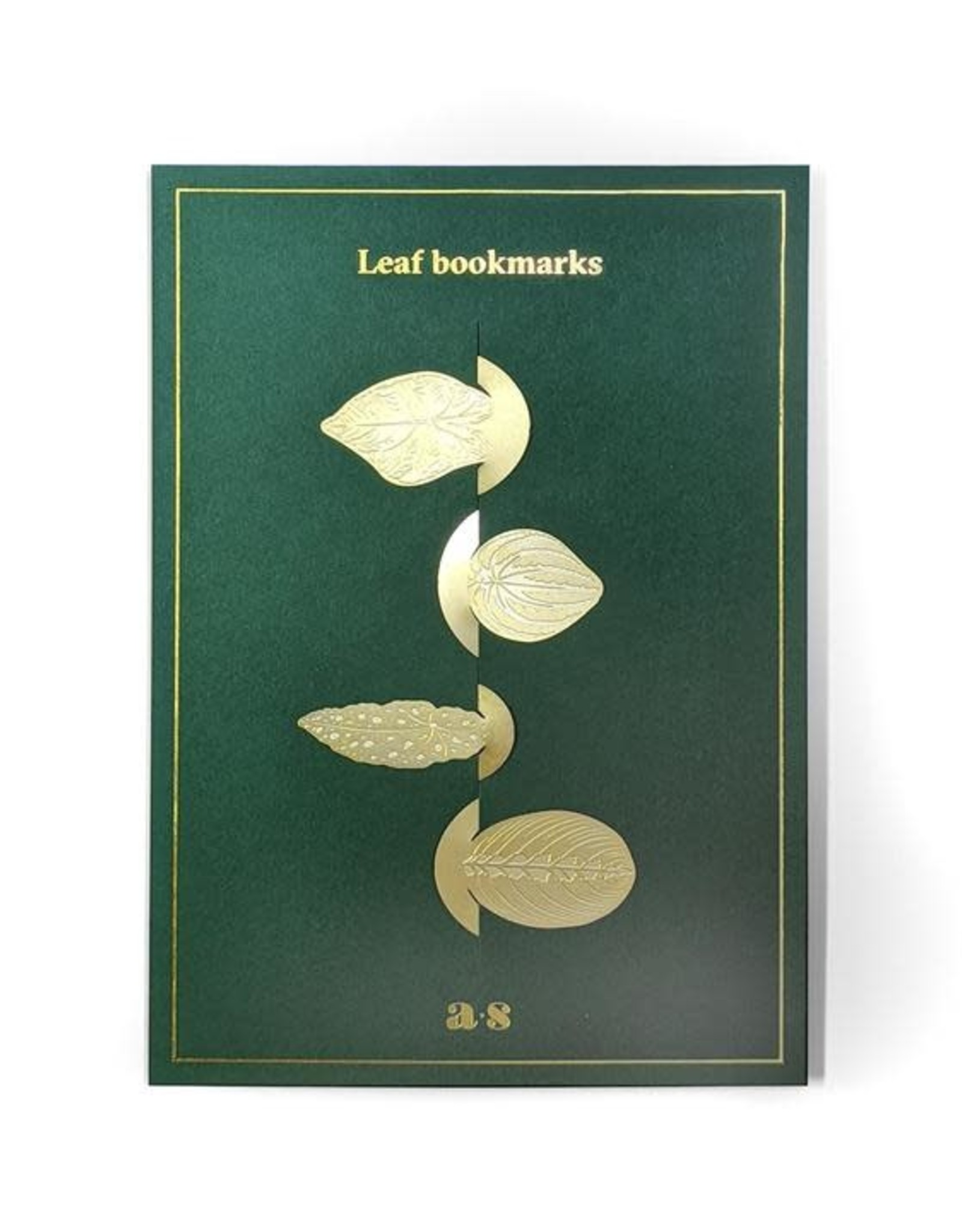 another studio Leaf Bookmarks - Gold