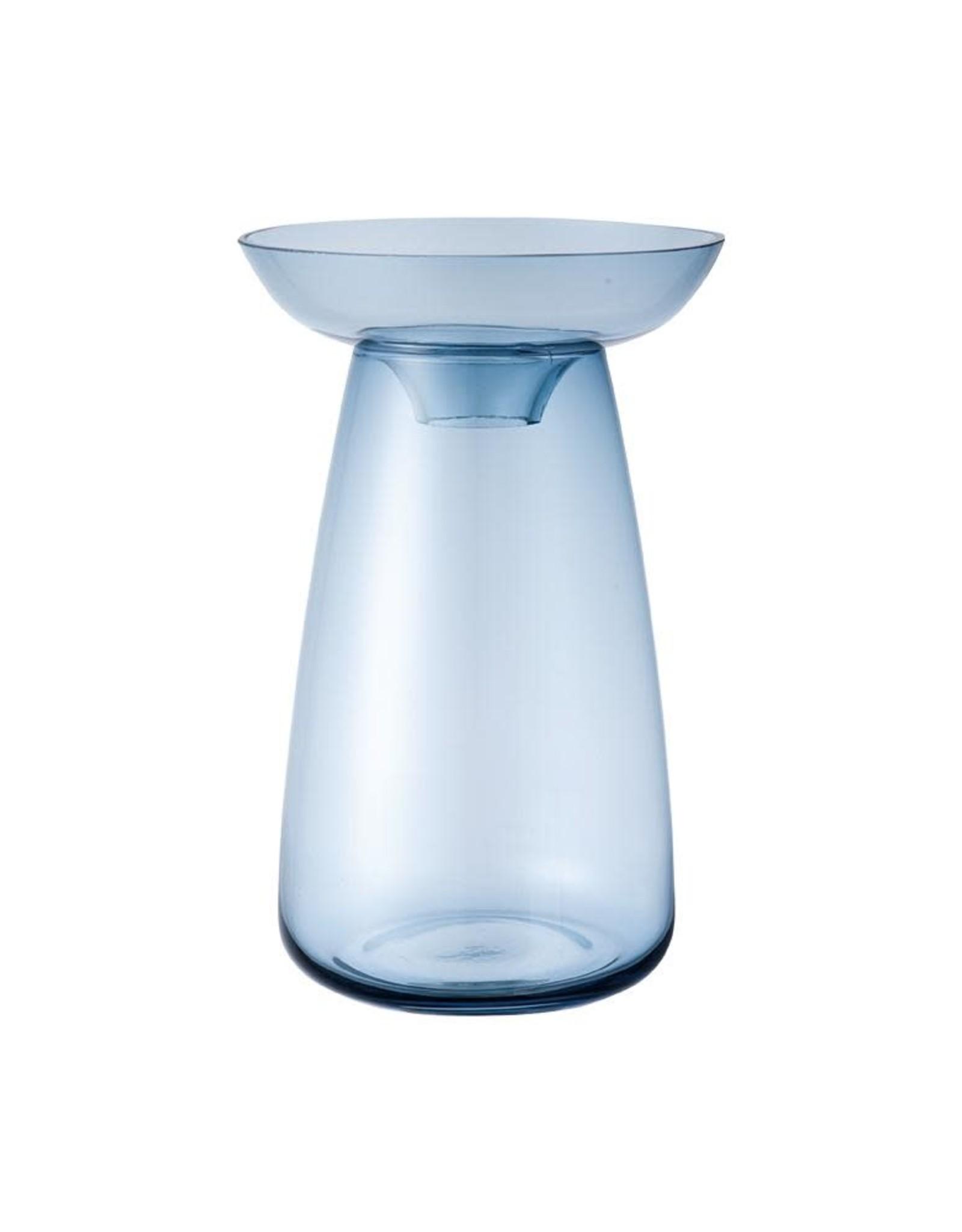 Kinto Aqua Culture Vase  large  (blue)