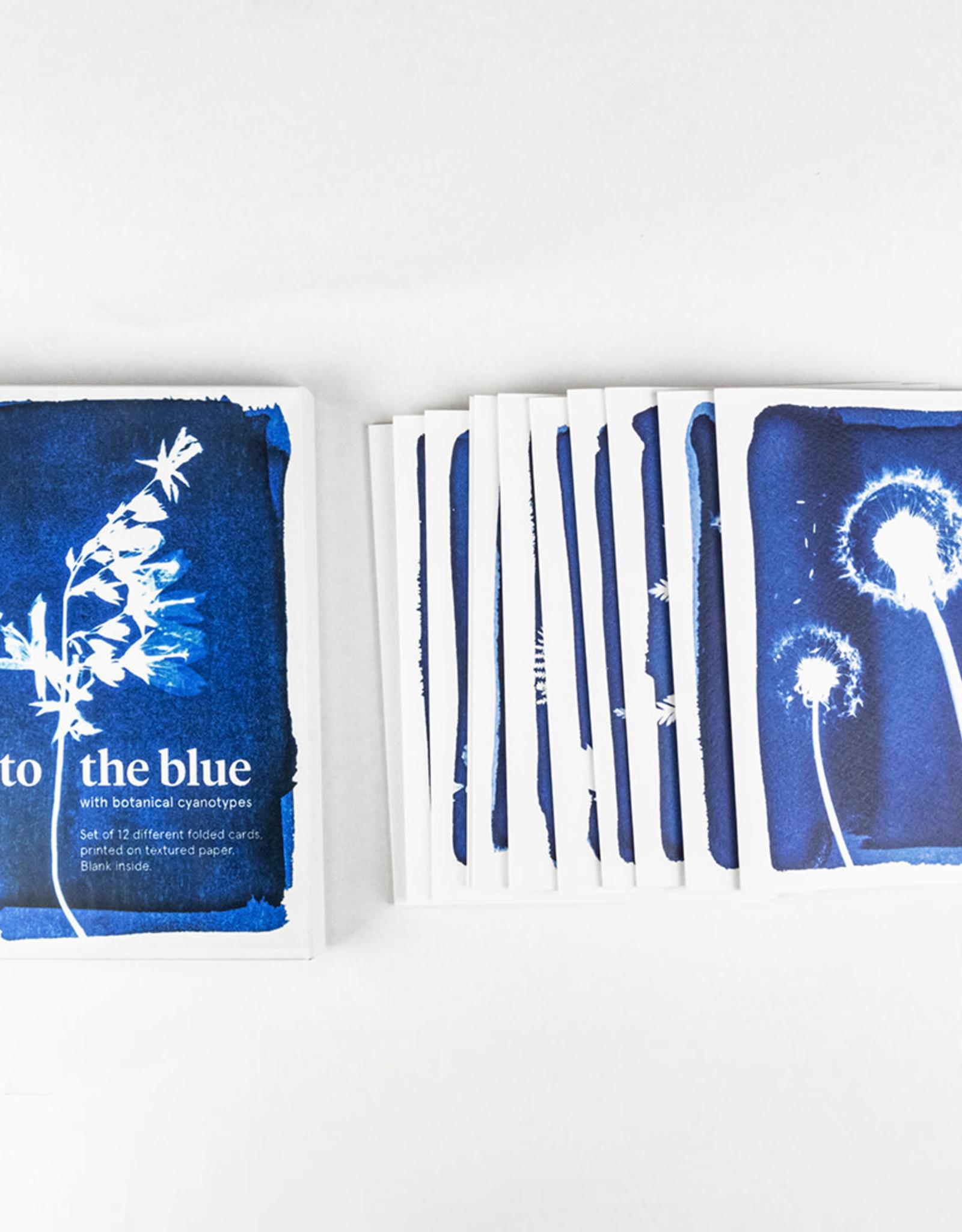 Botanopia Set of 12 Cyanotype Greeting Cards
