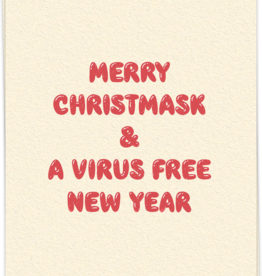 Kaart Blanche Merry Christmask & A Virus Free New Year