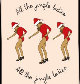 Kaart Blanche Jingle Ladies