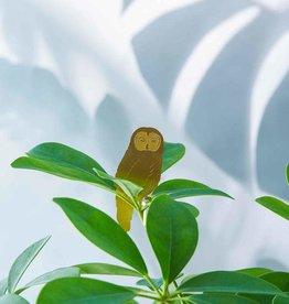 another studio Golden plant hanger - Owl