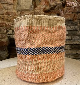 Hadithi Basket M - salmon by Getrurde