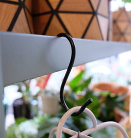 Madam Stoltz S-hook 8,5x4 cm - Black