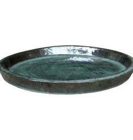 Glazed saucer Jade ∅36 h5