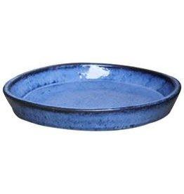 Glazed saucer Blue ∅36 h5