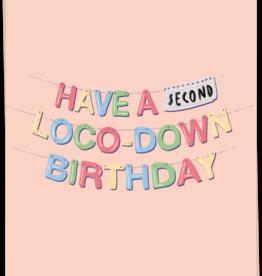 Kaart Blanche Loco-down birthday