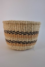 Solid Crafts Hadithi Basket XS - terracotta & black by Beatrice