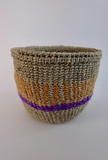 Solid Crafts Hadithi Basket XS - purple & orange by Vailet