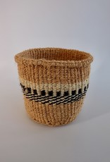 Solid Crafts Hadithi Basket XS - black & white by Sarah
