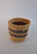 Solid Crafts Hadithi Basket XS - black & white by Beatrice