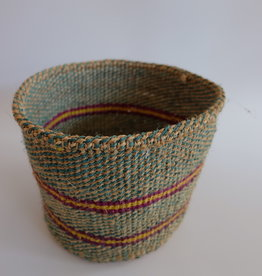 Solid Crafts Hadithi Basket S - turquoise by Joyce