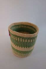 Solid Crafts Hadithi Basket S - green by Eunice