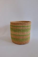 Solid Crafts Hadithi Basket M - green by Mary