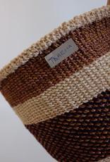 Solid Crafts Hadithi Basket M - brown by Teresia