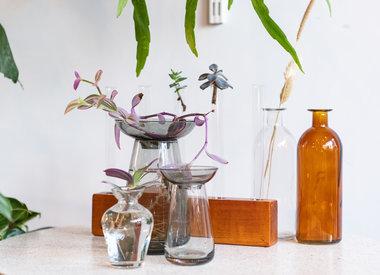 cutting vases