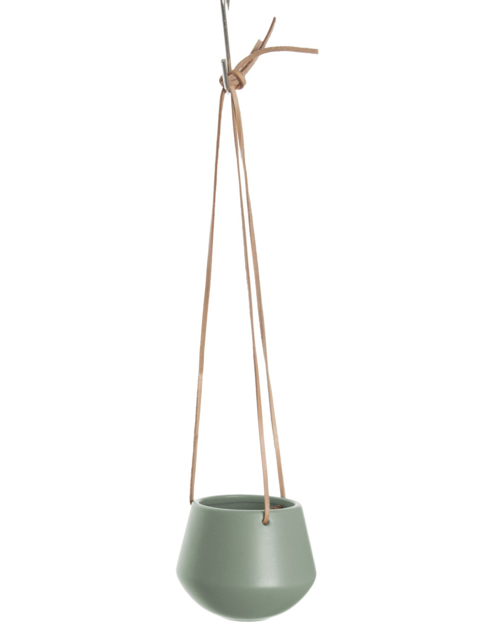 pt Skittle hanging pot Ø8.5 h9 cm - Jungle green