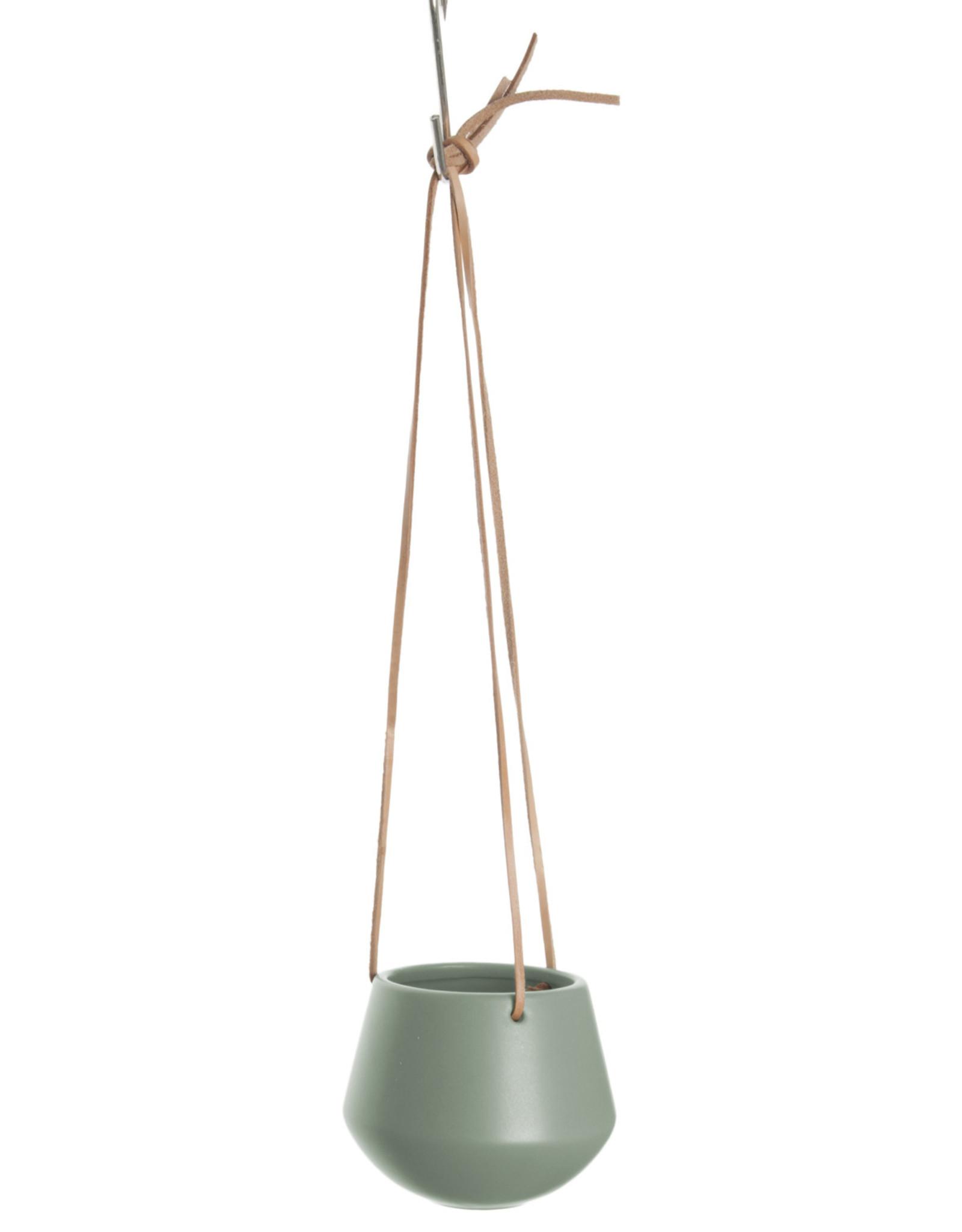 pt Skittle hangpot  Ø12 cm, lengte 66 cm - Jungle groen
