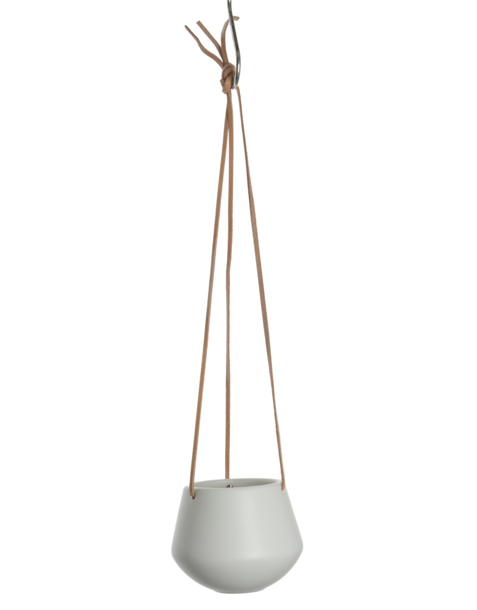 pt Skittle hangpot Ø9 cm, lengte 66 cm - Mat wit