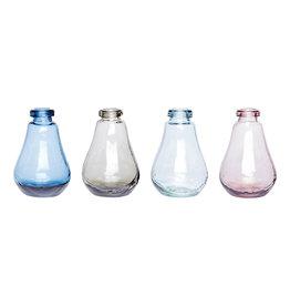 Hübsch Vase - Clear ø9xh13cm
