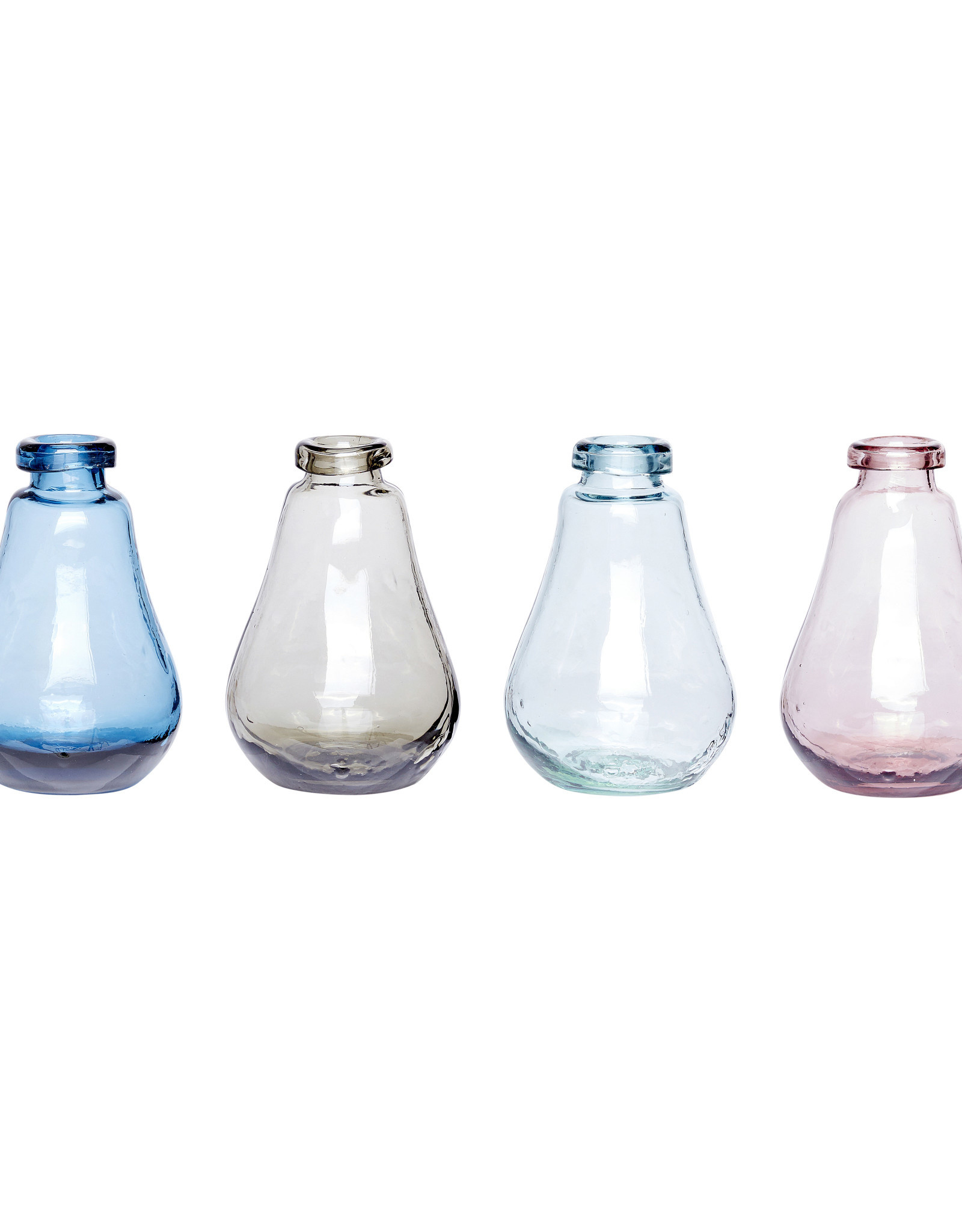 Hübsch Vase - Blue ø9xh13cm