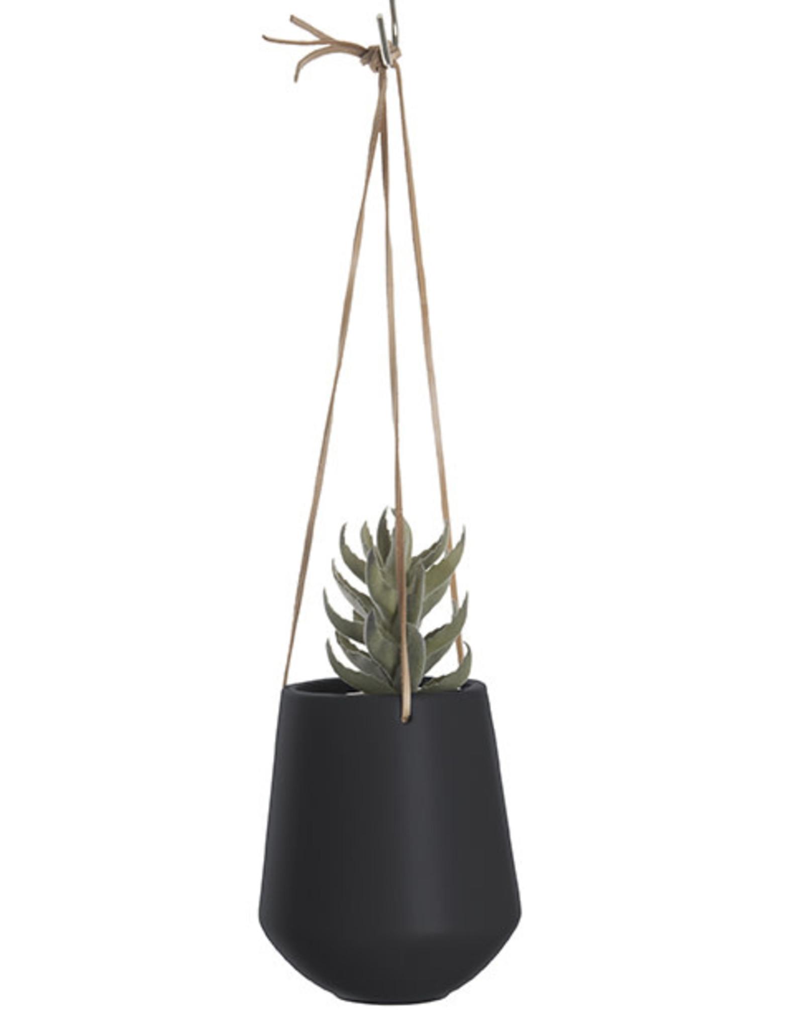 pt Skittle hanging pot Ø9.5 h16 cm - Black