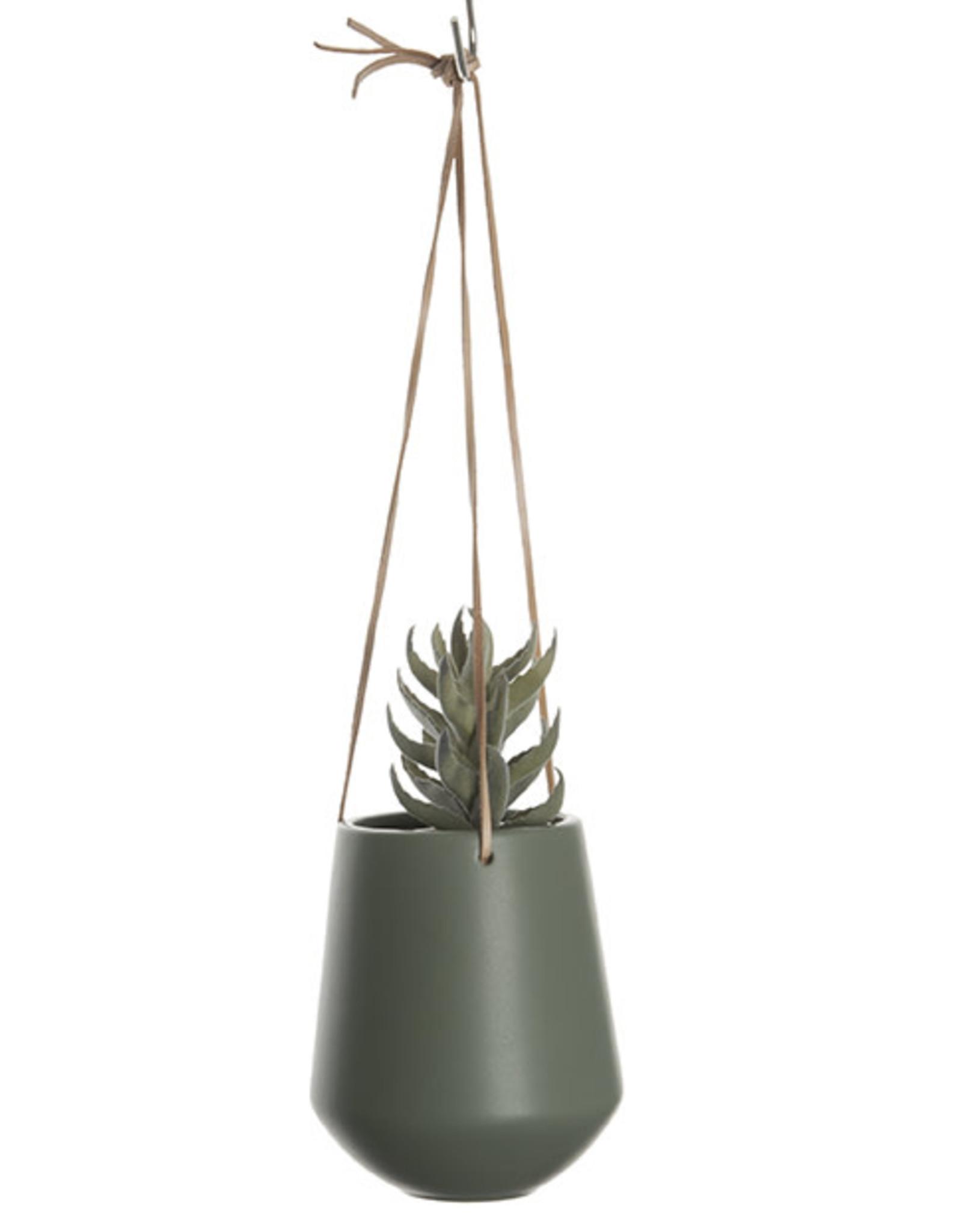 pt Skittle hanging pot Ø9.5 h16 cm - Jungle green