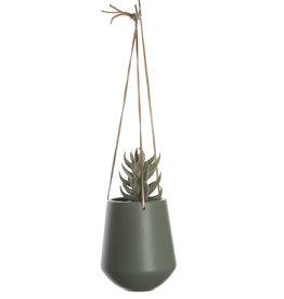 pt Skittle hangpot Ø9.5 cm h 16 cm - Junglegroen